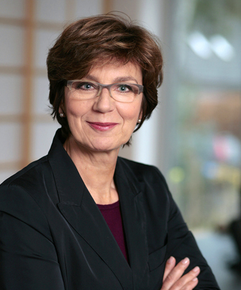 Porträt von Sabine Volckens, Geschäftsführerin der Volckens Concepts GmbH & Co.KG